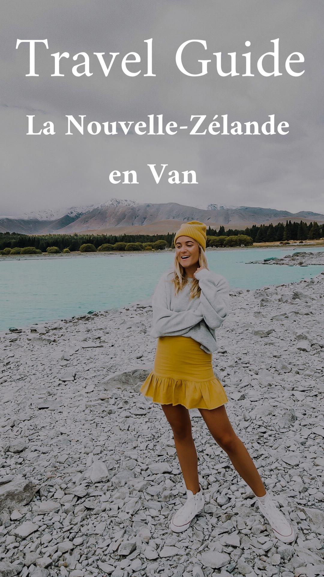 Guide voyage roadtrip en van en Nouvelle-Zélande - Blondie Baby blog voyages et mode