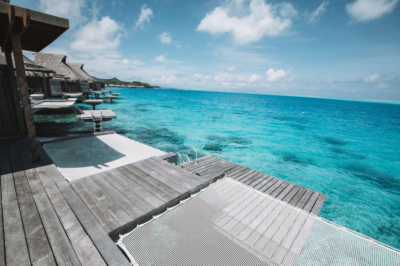 Bengalow Pilotis Bora Bora - Blondie Baby blog voyages et mode