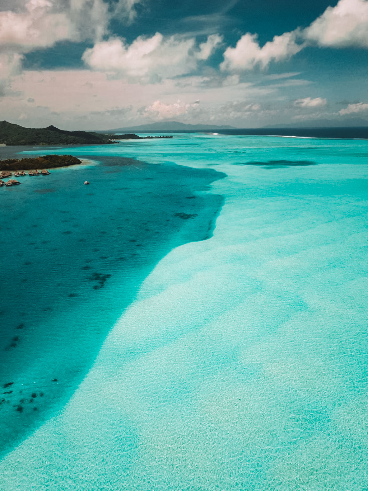 Lagon Bora Bora - Blondie Baby blog voyages et mode