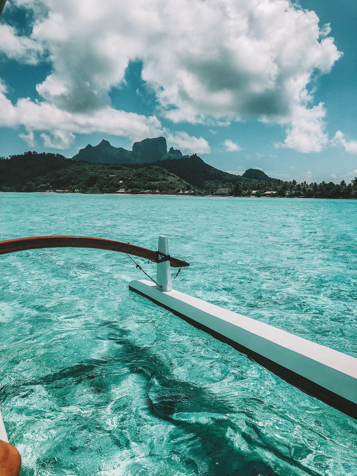 Bateau Bora Bora - Blondie Baby blog voyages et mode