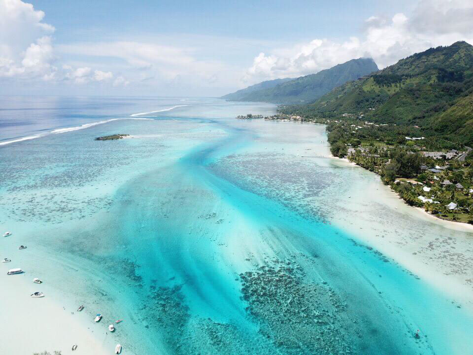 Drone Moorea - Blondie Baby blog voyages et mode