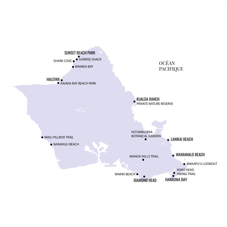Carte-Oahu