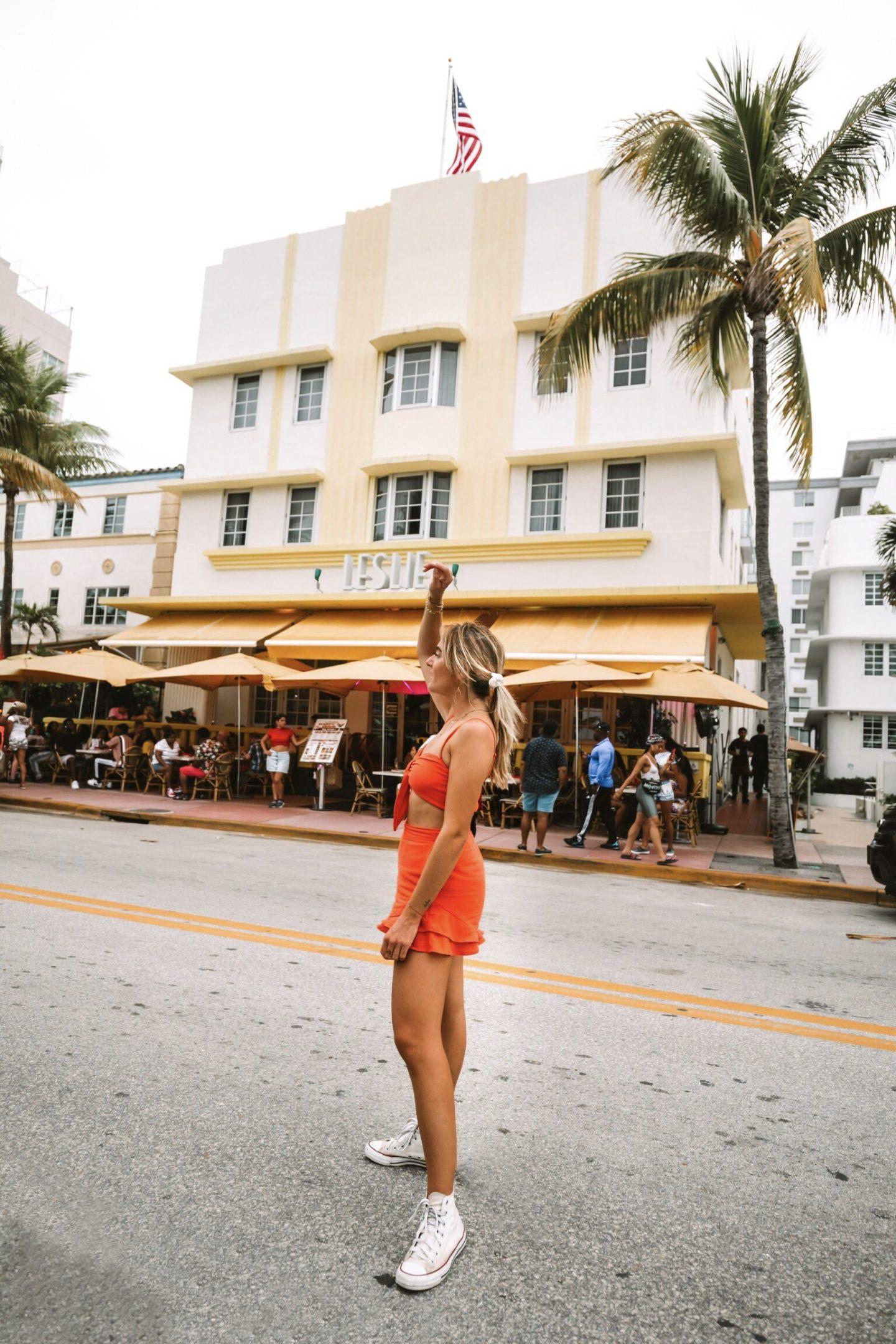 Ocean Drive Miami Beach - Blondie Baby blog mode et voyages