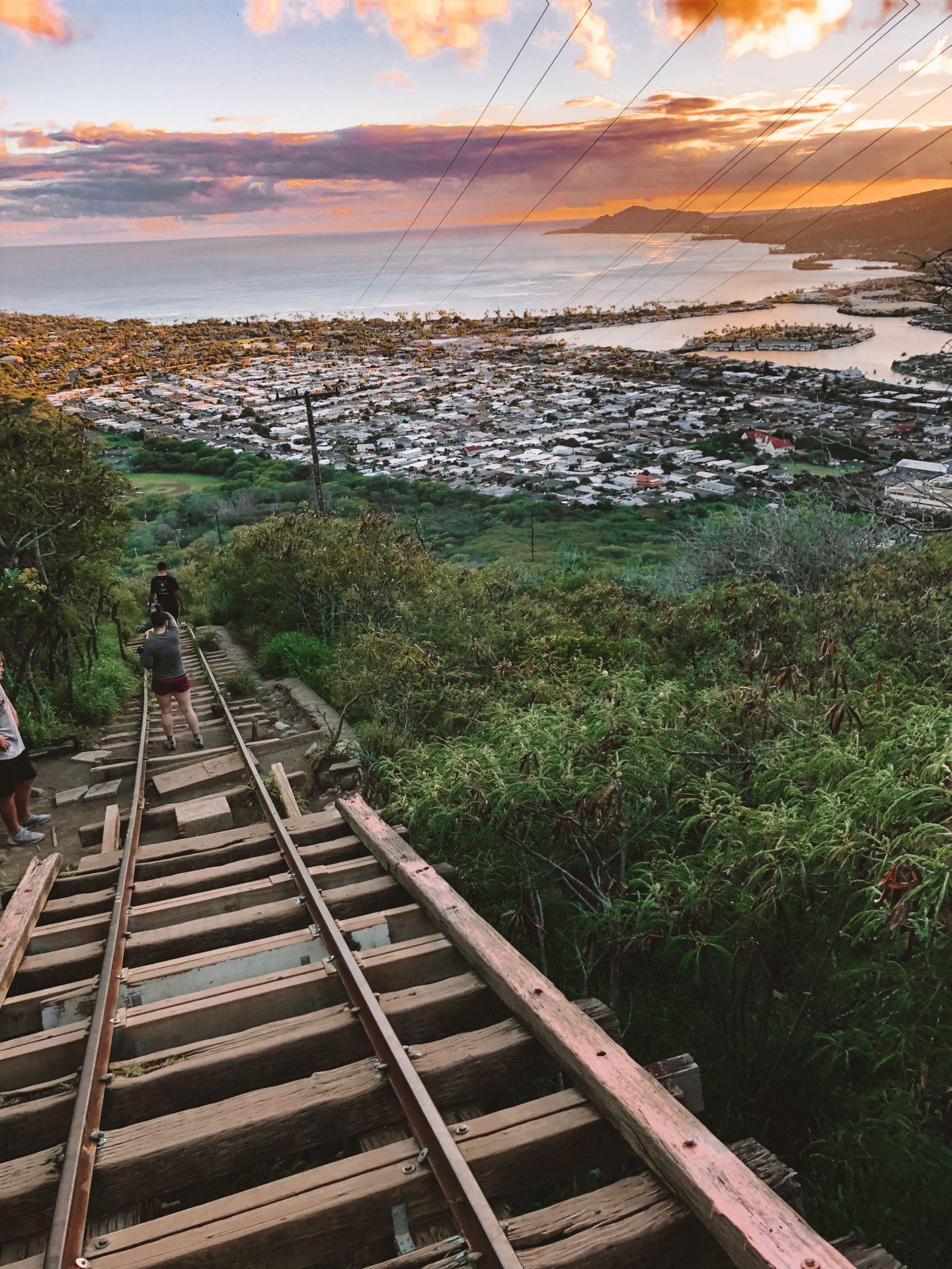 Koko head Trail Oahu - Blondie Baby blog mode et voyages