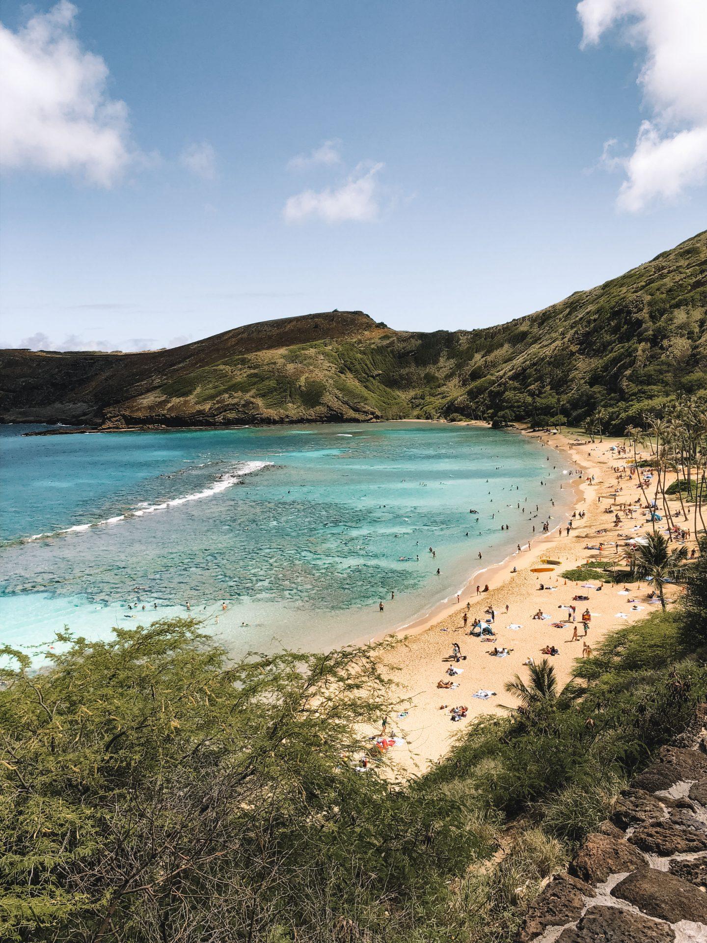 Snorkeling Hanauma Bay Hawaii - Blondie Baby blog mode et voyages