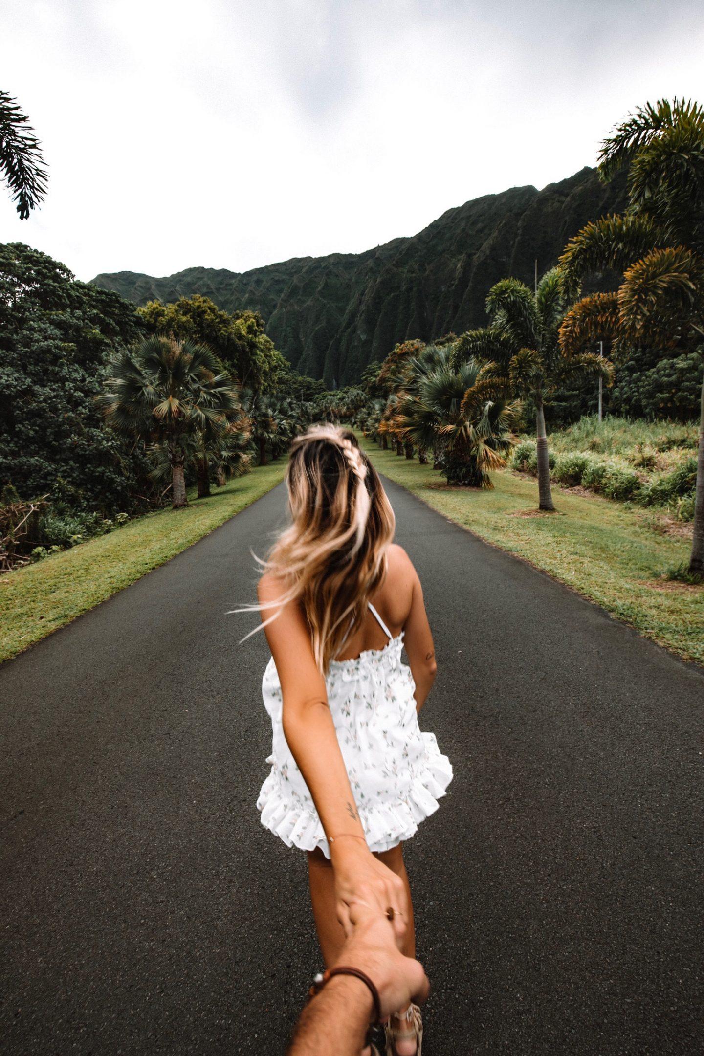 Ho'omaluhia botanical garden Hawaii - Blondie Baby blog mode et voyages