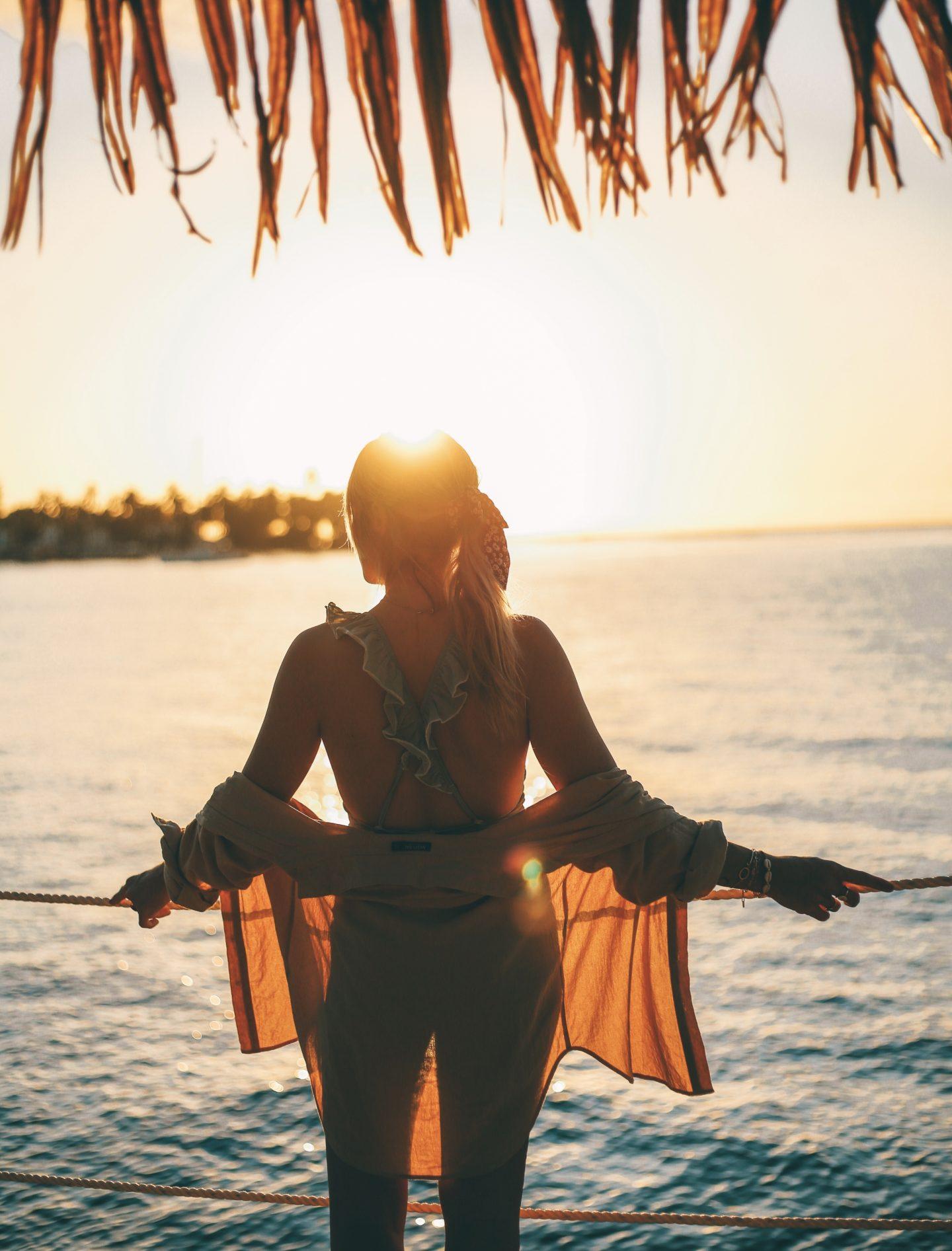 Lever de soleil Guadeloupe - Blondie Baby blog voyage et mode