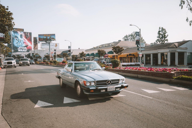 Sunset Strip - Blondie Baby blog voyages