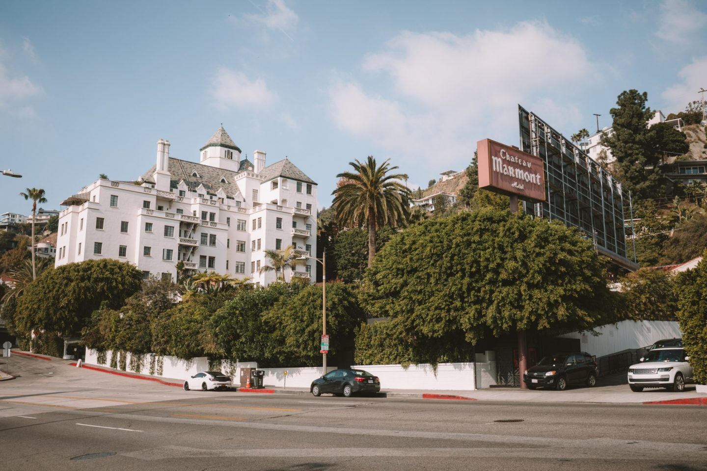 Chateau Marmont West Hollywood - Blondie Baby blog voyages