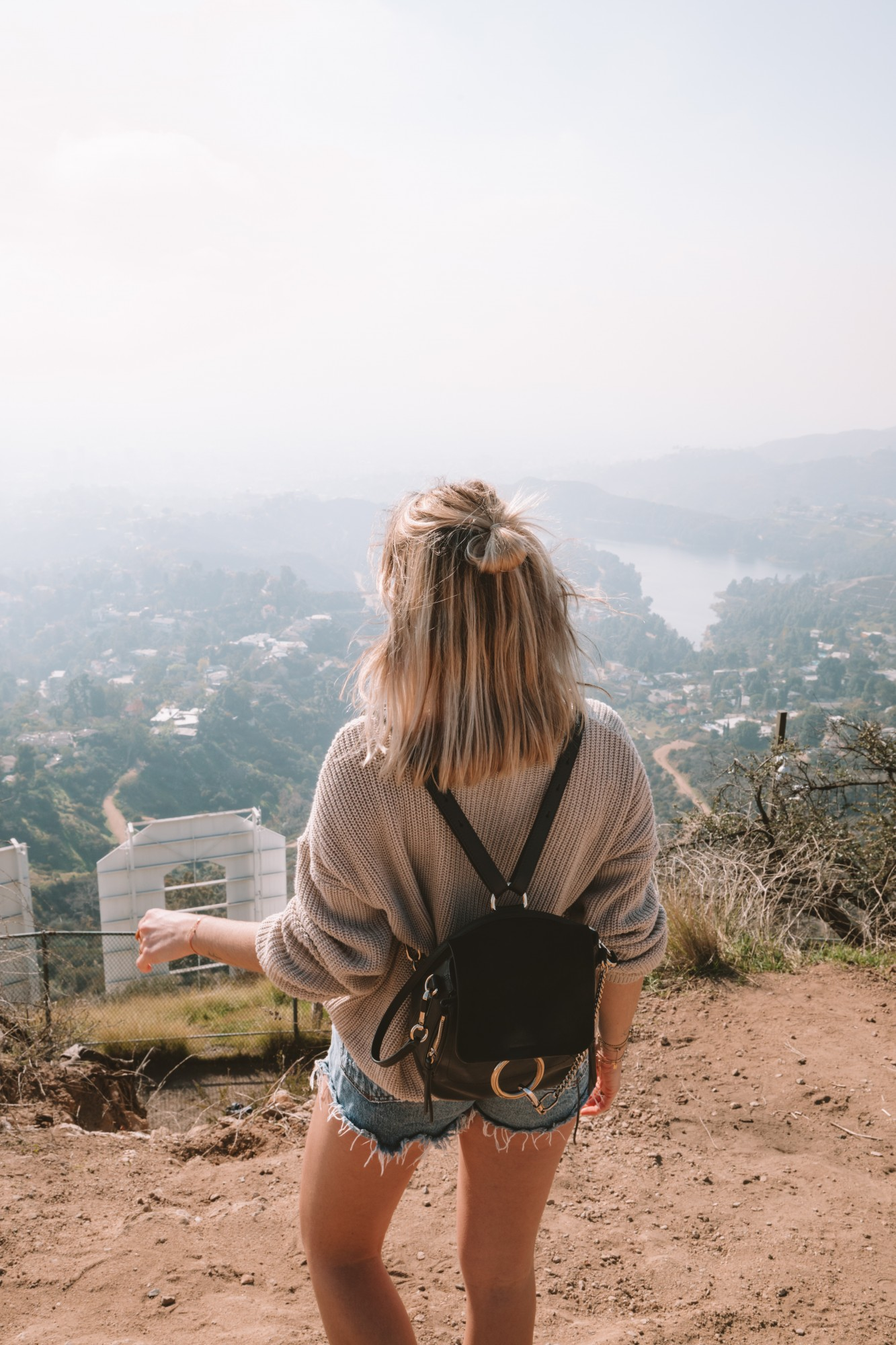 Hollywood Sign trail - Blondie Baby blog voyages