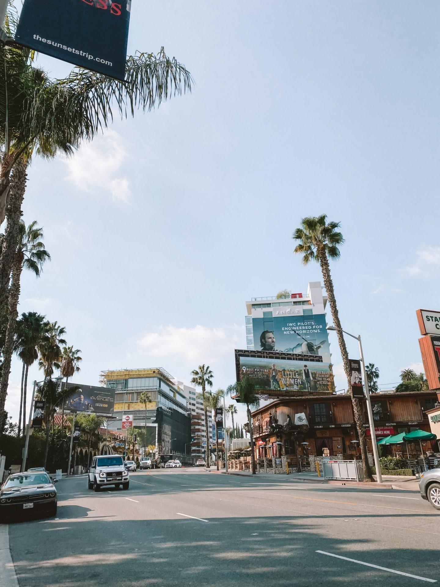 Sunset Boulevard - Blondie Baby blog voyages