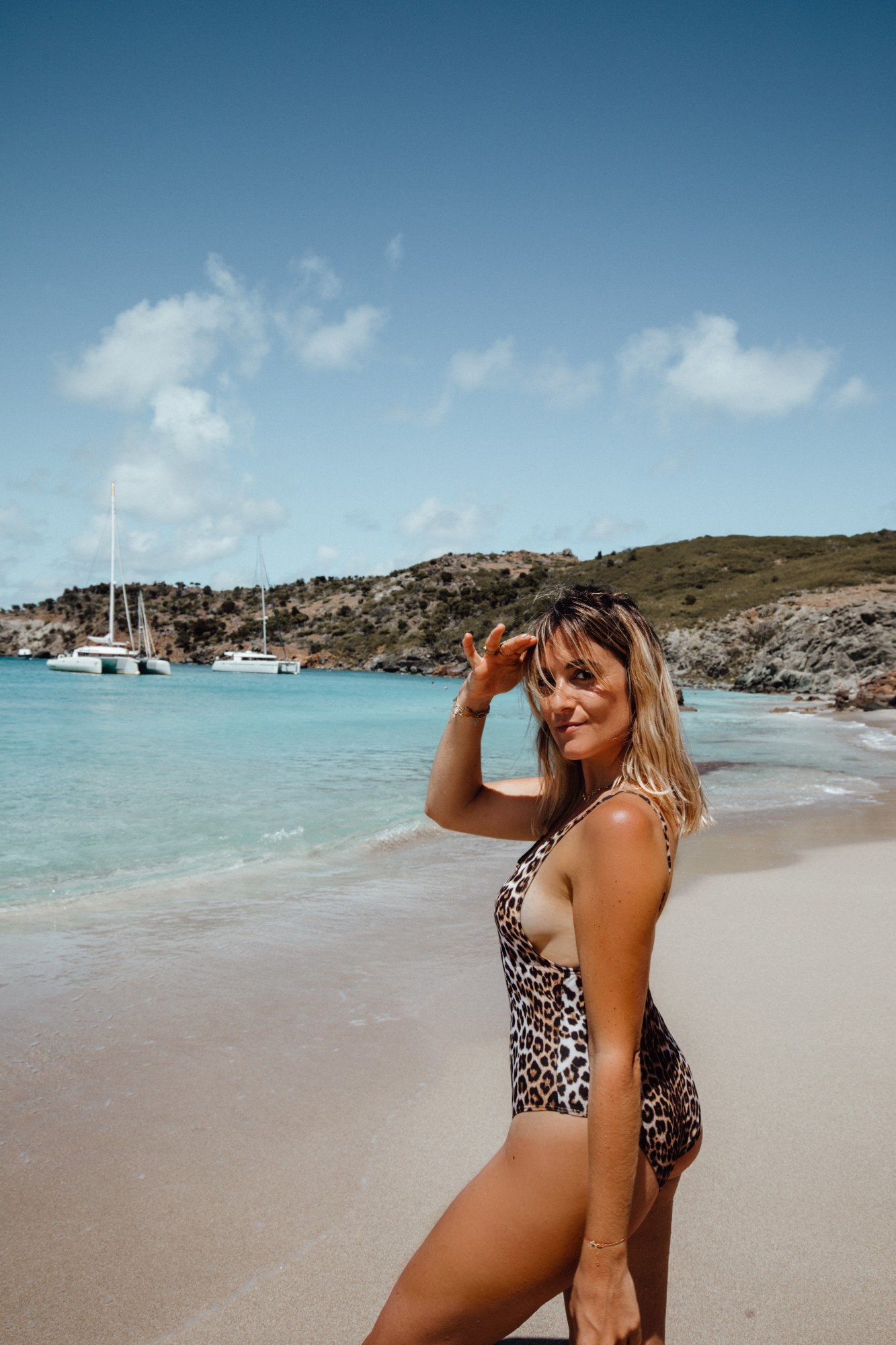 Plage de Colombier Saint Barth - Blondie Baby blog voyages