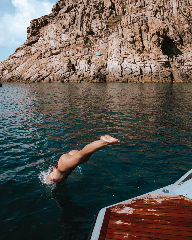 Bateau îles Lavezzi - Blondie Baby blog voyages