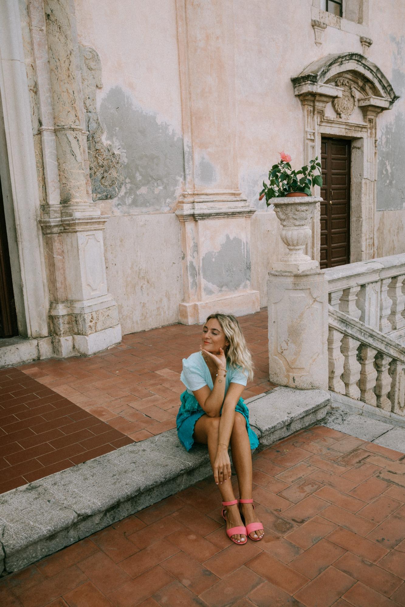 Que faire à Taormina Sicile - Blondie Baby blog voyages