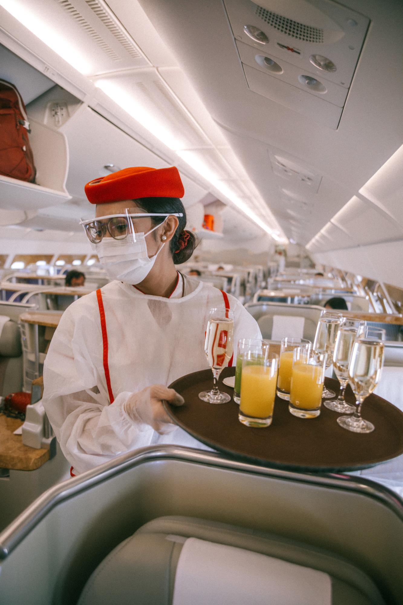 Emirates - Blondie Baby blog voyages