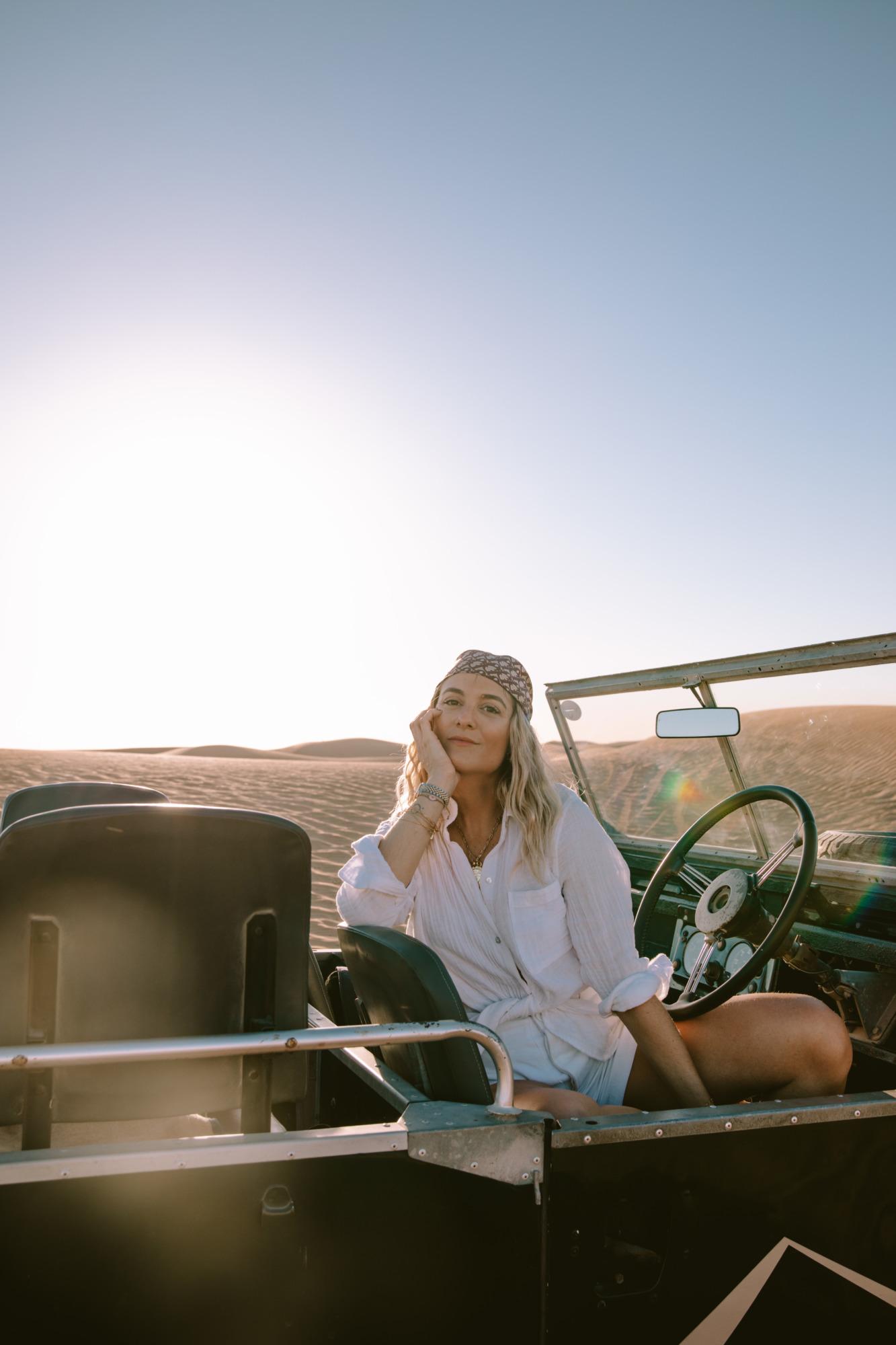 Safari Land Rover Dubaï - Blondie Baby blog voyages