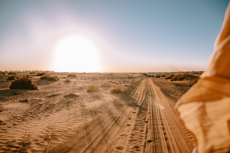 Visiter le désert de Dubaï - Blondie Baby blog voyages