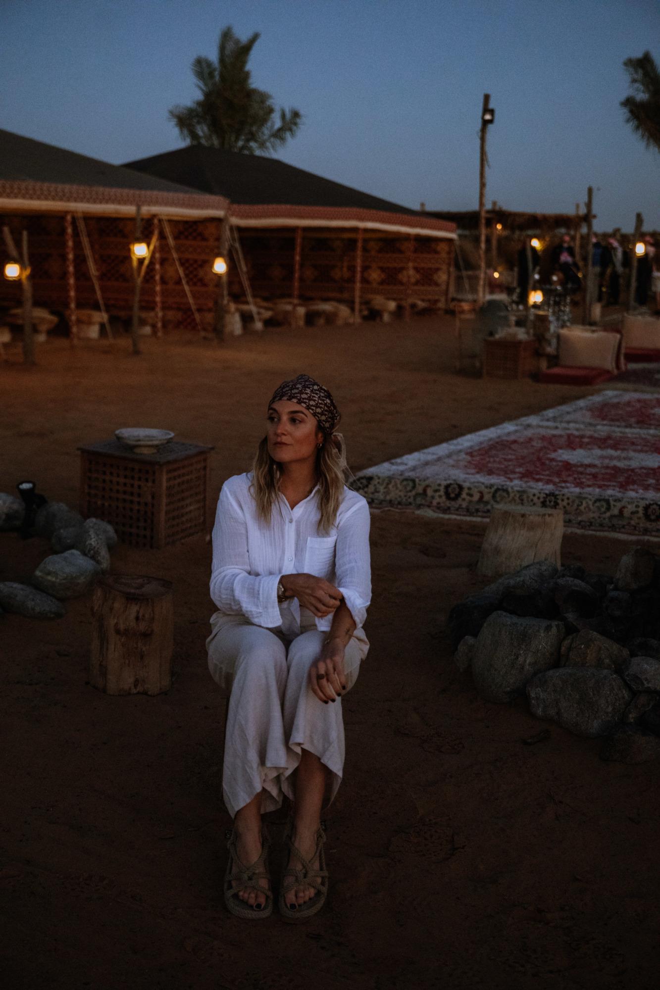 Safari avec Platinum Heritage Dubaï - Blondie Baby blog voyages