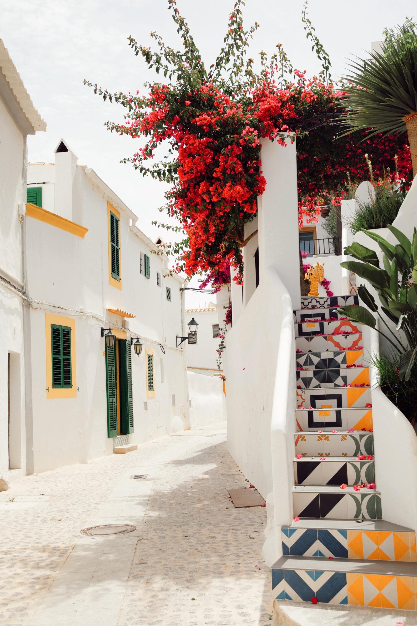 Vieille ville Ibiza - Blondie Baby blog voyages
