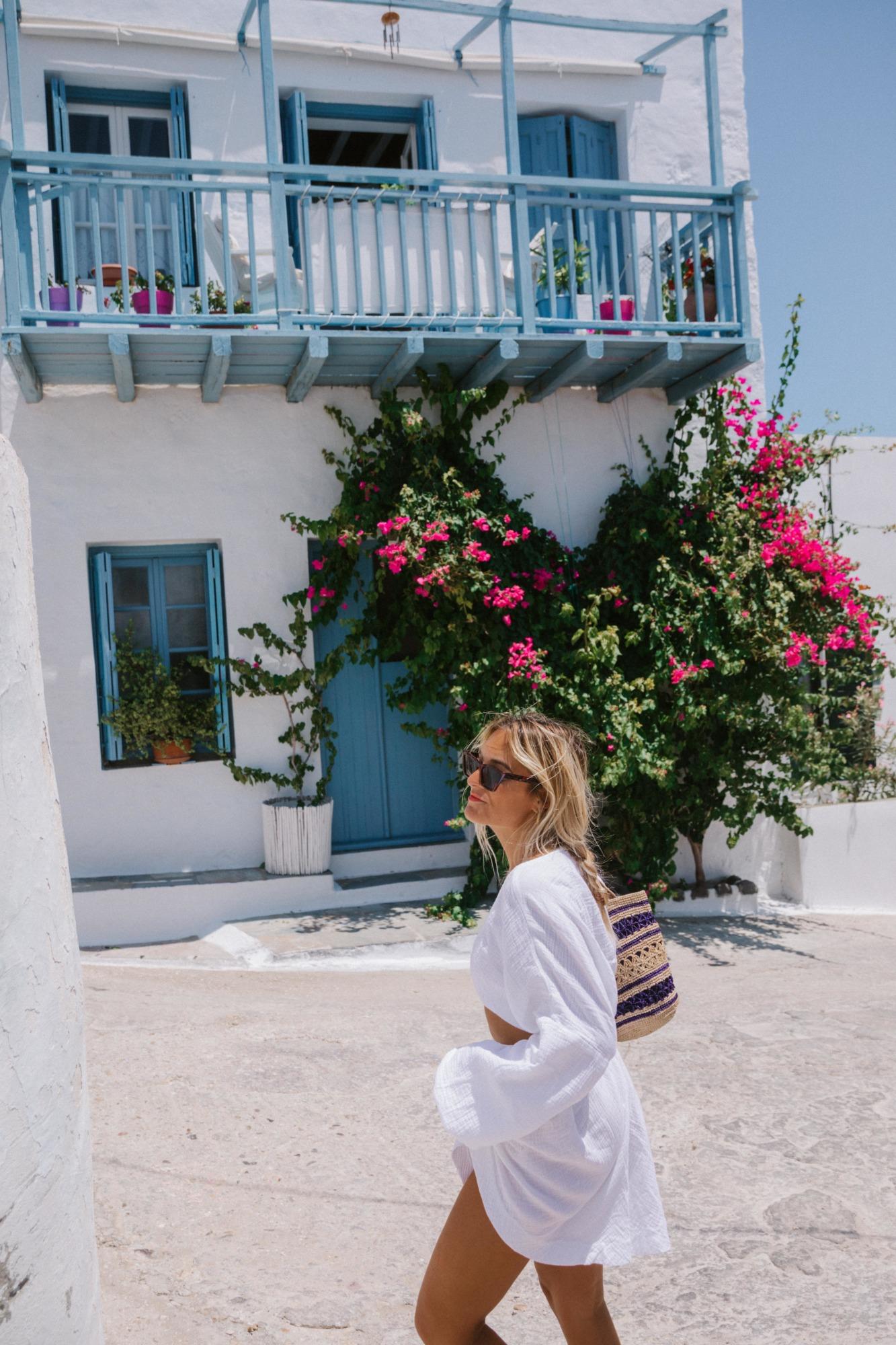 Plaka Milos Grèce - Blondie Baby blog voyage