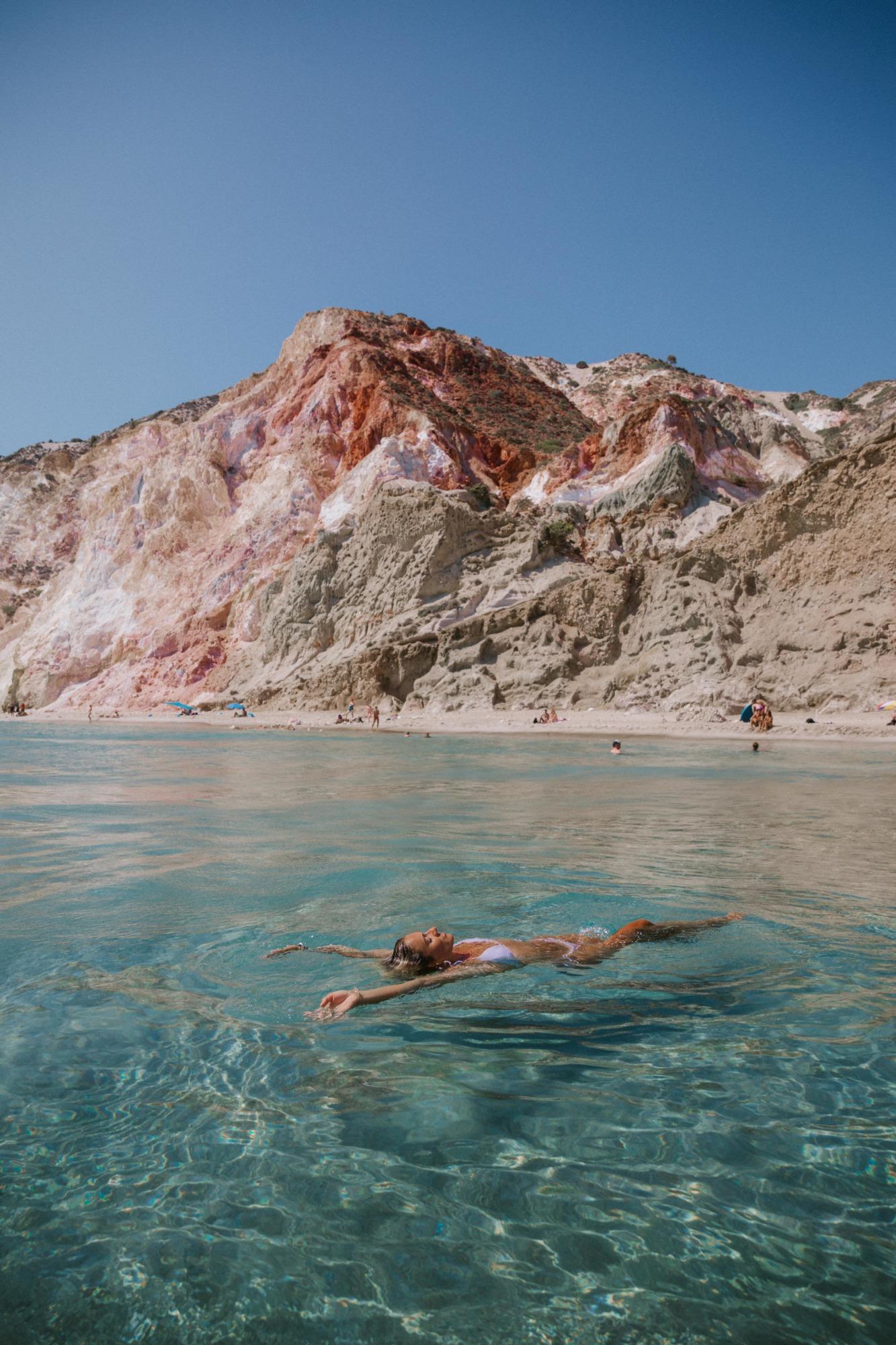 Les plus belles plages de Milos - Blondie Baby blog voyage
