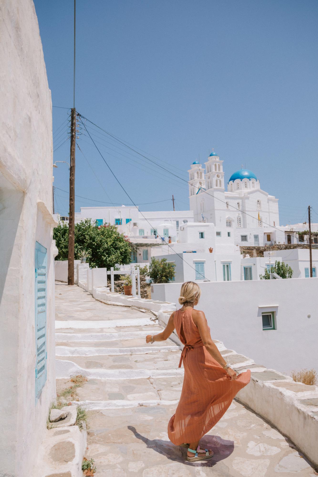 Visiter Apollonia Sifnos - Blondie Baby blog voyages