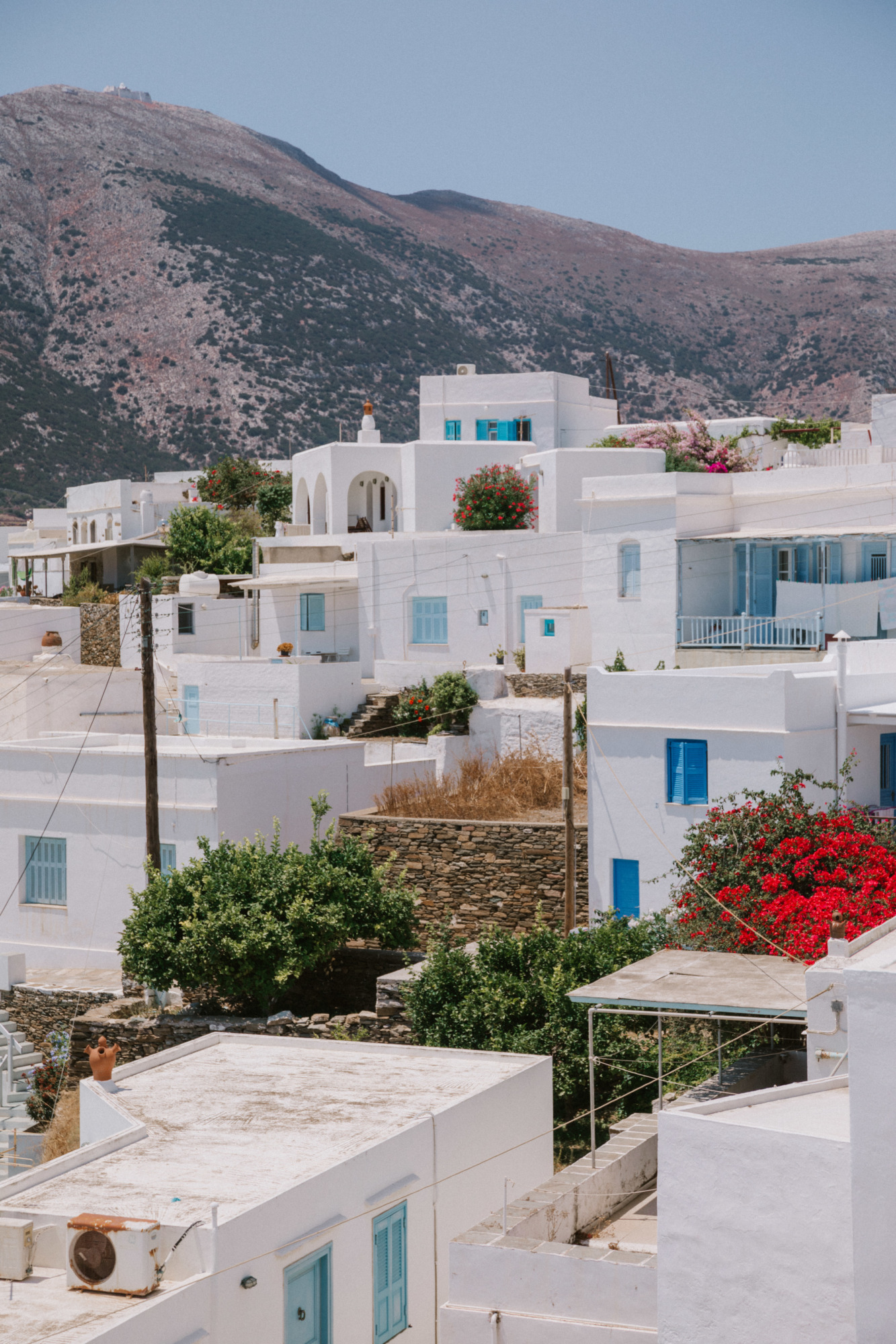 Village Apollonia Sifnos - Blondie Baby blog voyages