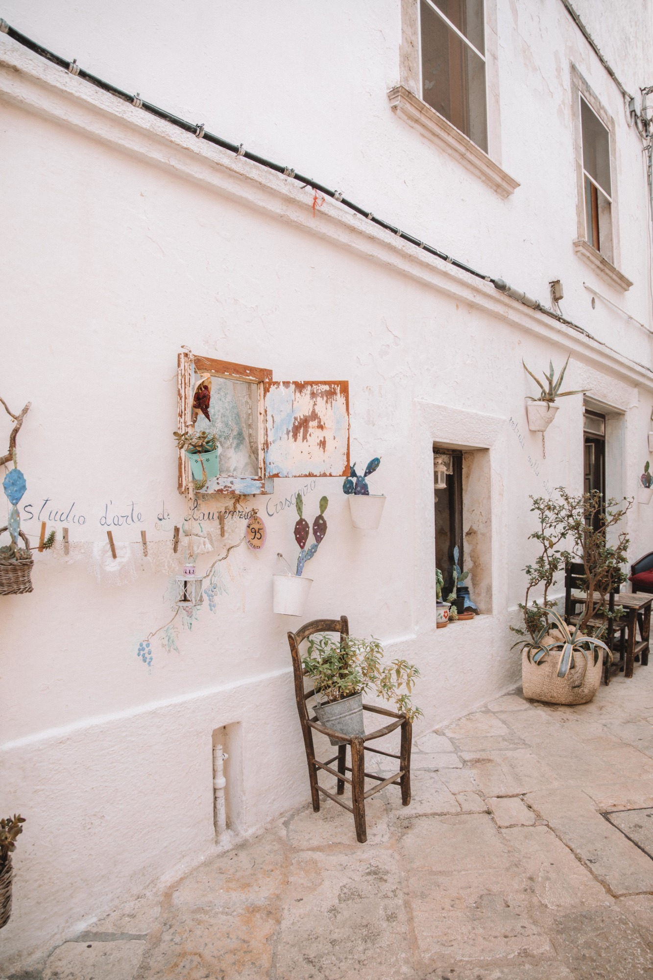 Visiter Locorotondo les Pouilles - Blondie Baby blog voyages